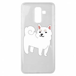 Etui na Samsung J8 2018 Angry dog
