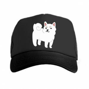 Czapka trucker Angry dog