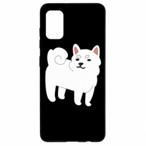 Etui na Samsung A41 Angry dog