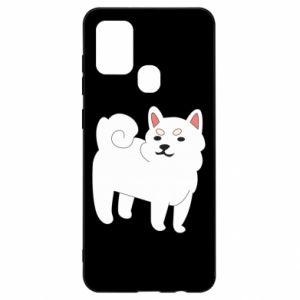Etui na Samsung A21s Angry dog