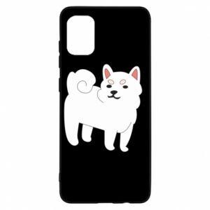 Etui na Samsung A31 Angry dog