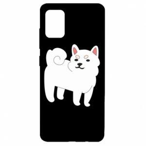 Etui na Samsung A51 Angry dog