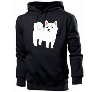Men's hoodie Angry dog