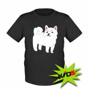 Dziecięcy T-shirt Angry dog