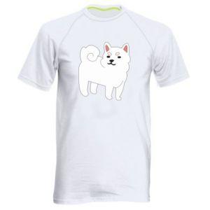 Koszulka sportowa męska Angry dog