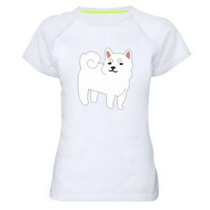 Koszulka sportowa damska Angry dog