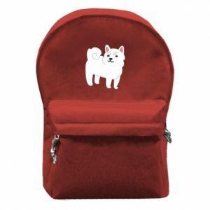 Plecak z przednią kieszenią Angry dog