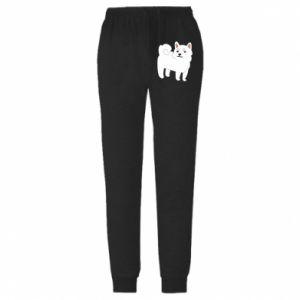 Spodnie lekkie męskie Angry dog