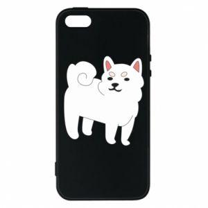 Etui na iPhone 5/5S/SE Angry dog