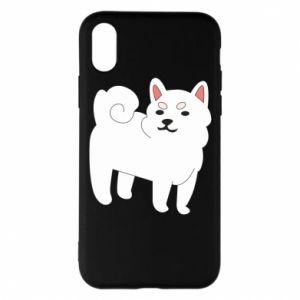 Etui na iPhone X/Xs Angry dog