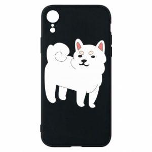 Etui na iPhone XR Angry dog
