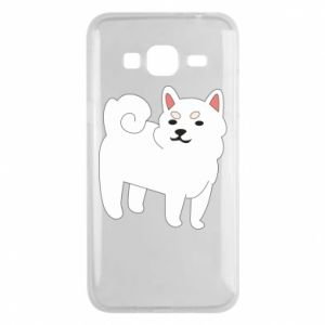 Etui na Samsung J3 2016 Angry dog