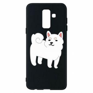 Etui na Samsung A6+ 2018 Angry dog