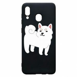 Etui na Samsung A20 Angry dog