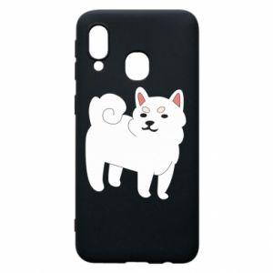 Etui na Samsung A40 Angry dog