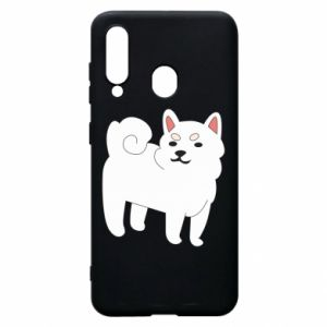 Etui na Samsung A60 Angry dog