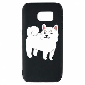 Etui na Samsung S7 Angry dog