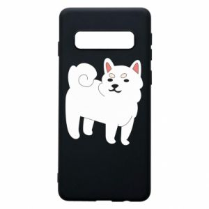 Phone case for Samsung S10 Angry dog