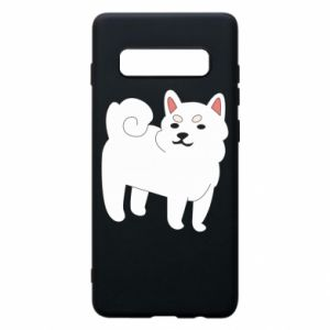 Etui na Samsung S10+ Angry dog