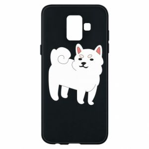 Etui na Samsung A6 2018 Angry dog