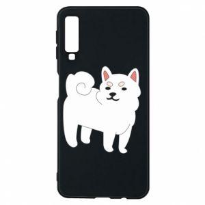 Etui na Samsung A7 2018 Angry dog