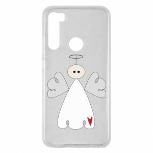 Etui na Xiaomi Redmi Note 8 Anioł z sercem