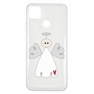 Etui na Xiaomi Redmi 9c Anioł z sercem