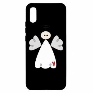 Etui na Xiaomi Redmi 9a Anioł z sercem