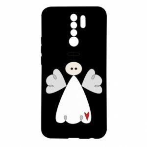 Etui na Xiaomi Redmi 9 Anioł z sercem