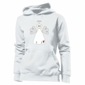 Women's hoodies Angel with heart