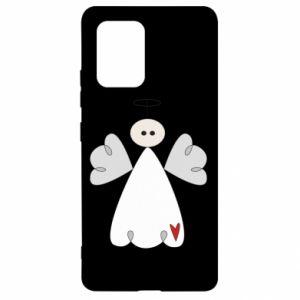 Etui na Samsung S10 Lite Anioł z sercem