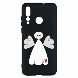 Etui na Huawei Nova 4 Anioł z sercem