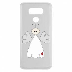 Etui na LG G6 Anioł z sercem