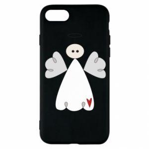 Etui na iPhone SE 2020 Anioł z sercem