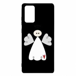 Etui na Samsung Note 20 Anioł z sercem
