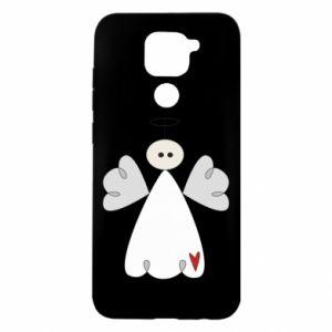 Etui na Xiaomi Redmi Note 9/Redmi 10X Anioł z sercem