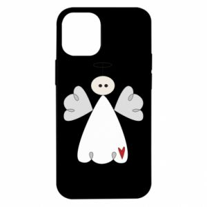 Etui na iPhone 12 Mini Anioł z sercem