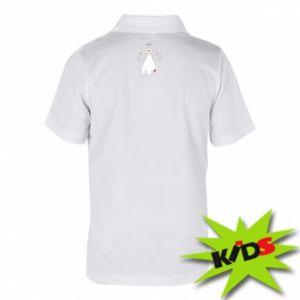 Children's Polo shirts Angel with heart