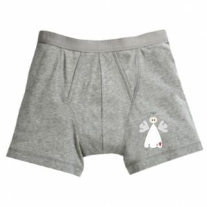 Boxer trunks Angel with heart