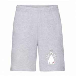 Men's shorts Angel with heart