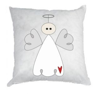 Pillow Angel with heart