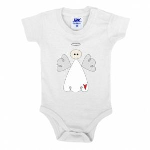 Baby bodysuit Angel with heart