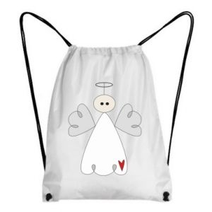 Backpack-bag Angel with heart