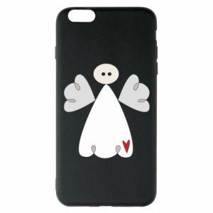 Etui na iPhone 6 Plus/6S Plus Anioł z sercem