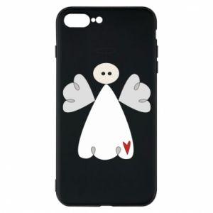 Etui na iPhone 7 Plus Anioł z sercem