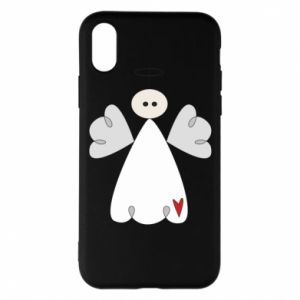 Phone case for iPhone X/Xs Angel with heart
