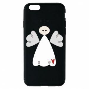Etui na iPhone 6/6S Anioł z sercem