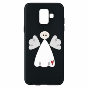 Phone case for Samsung A6 2018 Angel with heart