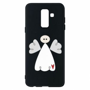 Phone case for Samsung A6+ 2018 Angel with heart