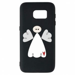 Phone case for Samsung S7 Angel with heart
